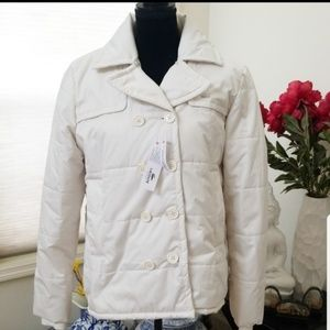 NWT Lacoste Polyester Water Resistant Jacket